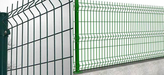 Plastic/ PVC Powder Coated Wire Mesh Temporary Fence