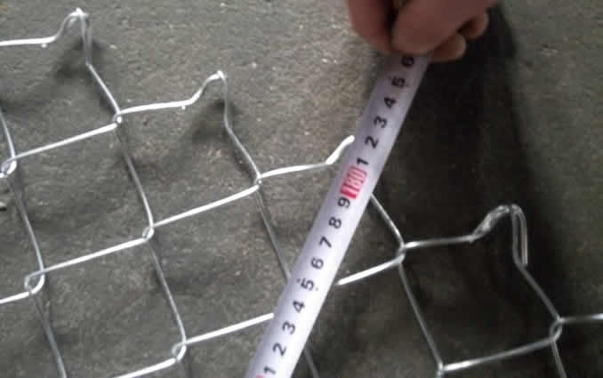 Galvanized Steel Chain Link Fence Panels Portable For