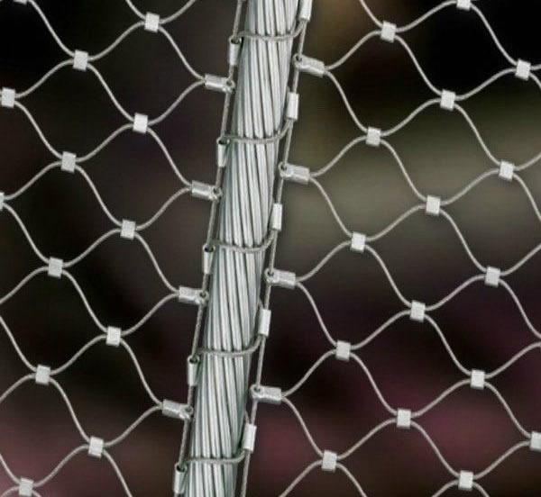 Portable Modular Security Steel Mesh Panel Fences