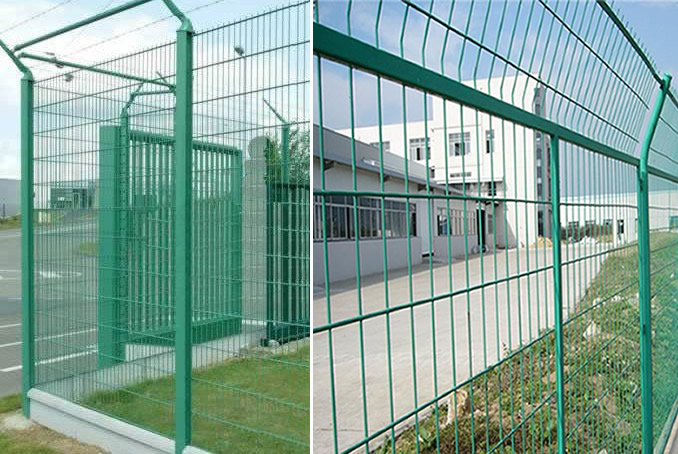 Portable Steel Mesh Framework Panel Mobile Fencing